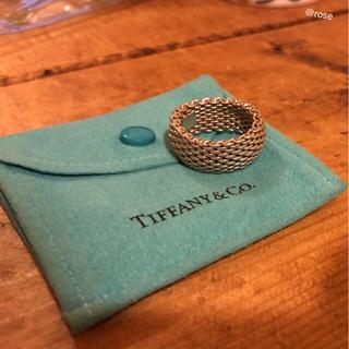 ティファニー(Tiffany & Co.)の【Tiffany】メッシュリング 13号 (シルバー)(リング(指輪))