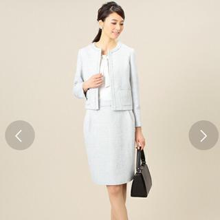 デミルクスビームス(Demi-Luxe BEAMS)のデミルクスビームス ラメツイードスカートスーツ セットアップ(スーツ)