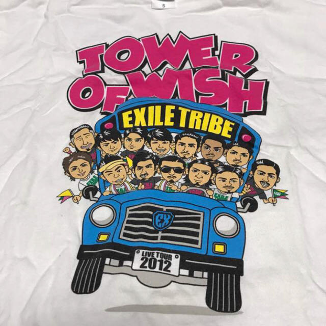 Exile Exile Tribe Tower Of Wish 2012 イラストtシャツの通販 By