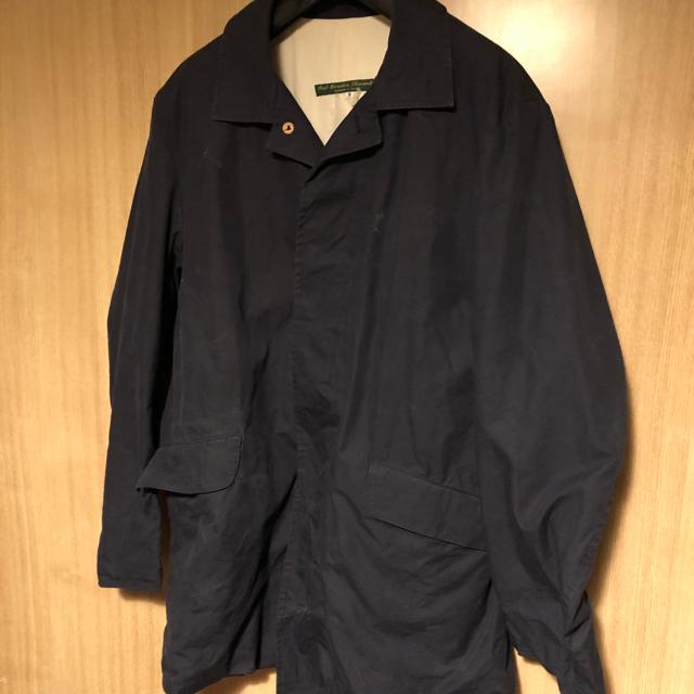 Paul Harnden(ポールハーデン)のポールハーデン マックコート ネイビー メンズSサイズ マルジェラ メンズのジャケット/アウター(ステンカラーコート)の商品写真