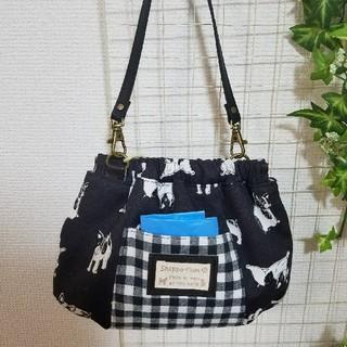 犬用 マナーポーチ 大バネFB(その他)