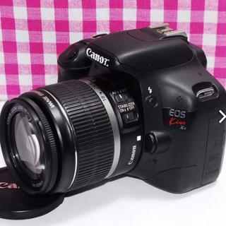 キヤノン(Canon)の❤極美品❤ドキドキ・ワクワクの予感 Canon Kiss x4 レンズキット♪(デジタル一眼)