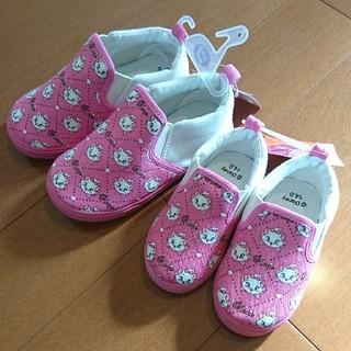 ディズニー(Disney)の【新品】子ども靴*14cmのみ(スリッポン)