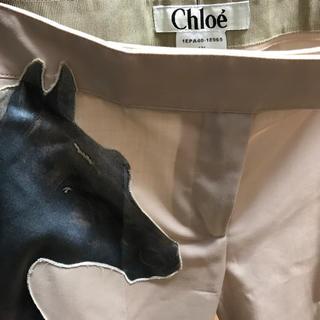 クロエ(Chloe)のchloe デザインパンツ 美品(その他)