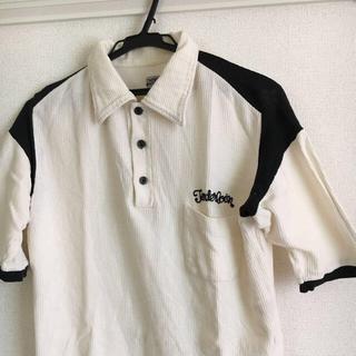 テンダーロイン(TENDERLOIN)のTENDERLOINS テンダーロイン 刺繍 ワッフル ポロシャツ(ポロシャツ)