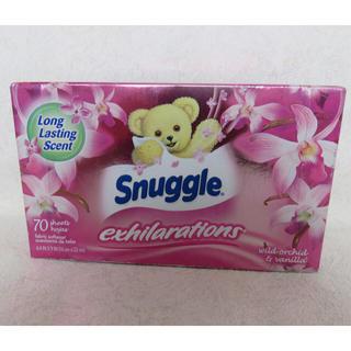 スナッグル(Snuggle)の☆snuggle☆  シートタイプ柔軟剤   70枚(洗剤/柔軟剤)