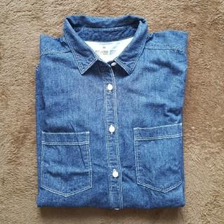 ムジルシリョウヒン(MUJI (無印良品))の無印デニムシャツ新品未使用❤(デニム/ジーンズ)