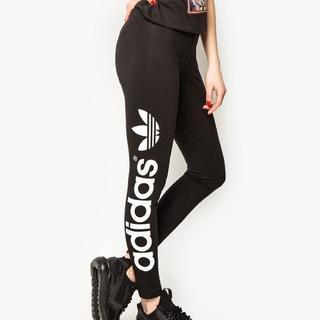 アディダス(adidas)のL【新品/即日発送】adidas オリジナルス レディース レギンス サイドロゴ(タイツ/ストッキング)
