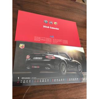 アルファロメオ(Alfa Romeo)のアルファ ロメオ・フィアット2018卓上カレンダー(車外アクセサリ)