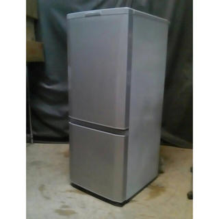 ミツビシデンキ(三菱電機)の美品15年 高級仕様146L 霜取不要(冷蔵庫)