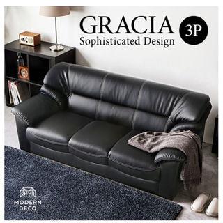 値下げ!GRACIA 3p モダン リビング 北欧 シンプル デザイン ソファー(その他)