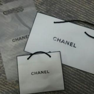 シャネル(CHANEL)のCHANEL ショッパー袋3種セット💓(その他)