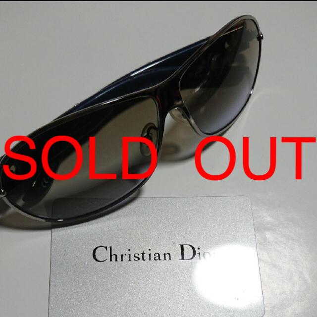 sports shoes c4ea9 87f8c ☆正規品Christian Dior サングラス☆メンズ&レディース両方可能 | フリマアプリ ラクマ
