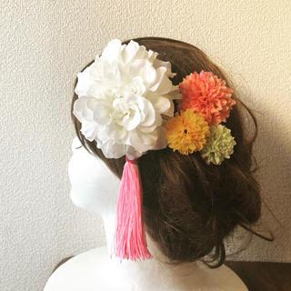 髪飾り5点セット【A-1】(ヘアピン)