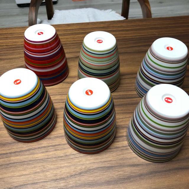 iittala(イッタラ)のiittala オリゴ 6点セット インテリア/住まい/日用品のキッチン/食器(グラス/カップ)の商品写真