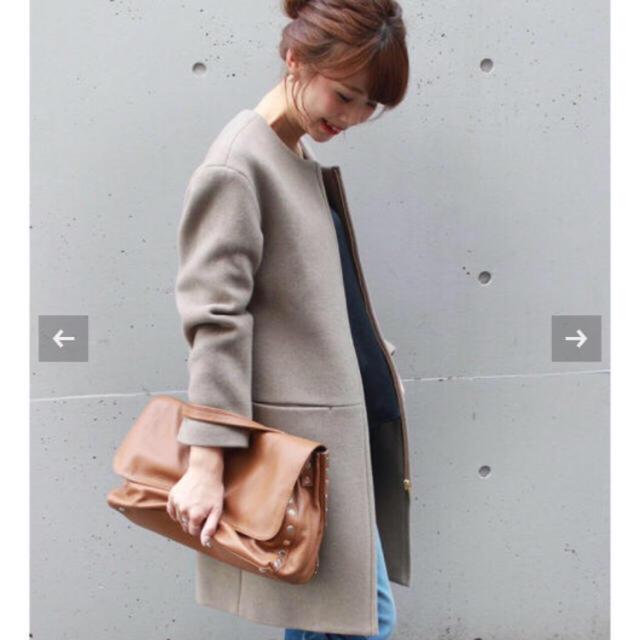 Noble(ノーブル)のクーポンSALE✨新品🌼Noble 2017a/wコート レディースのジャケット/アウター(ロングコート)の商品写真