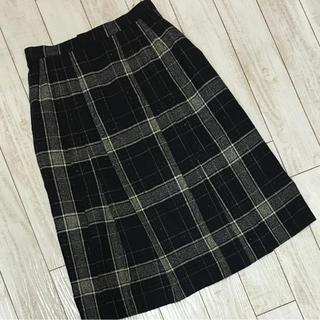 バンベール(VINVERT)のVINVERT プリーツスカート(ひざ丈スカート)