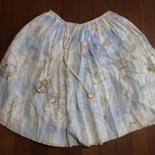 ツモリチサト(TSUMORI CHISATO)のツモリチサト リネン スカート(ひざ丈スカート)