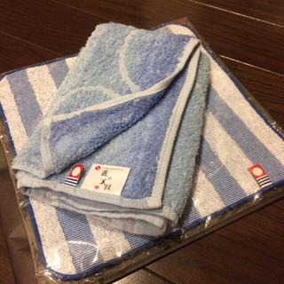 ザノベッティー(ZANOBETTI)の新品 タオルハンカチ3枚☆(ハンカチ/ポケットチーフ)