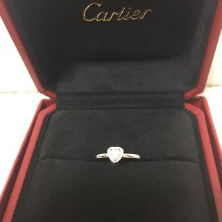 カルティエ(Cartier)のカルティエ ディアマン レジェリング ♡ハートモチーフ(リング(指輪))