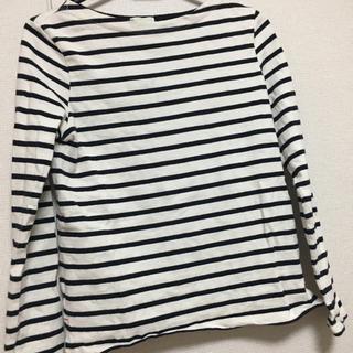 ジーユー(GU)のボーダー(Tシャツ(長袖/七分))