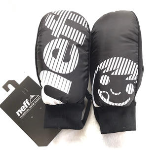 ネフ(Neff)の【新品】 neff デザイン ミトングローブ スキー スノーボード 手袋 (アクセサリー)