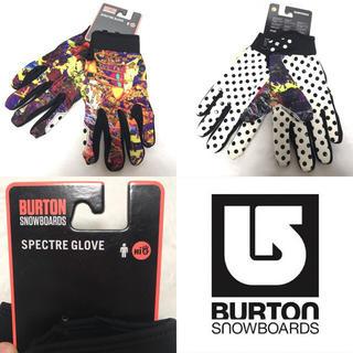 バートン(BURTON)のBURTON パークグローブ 5本指 スキー スノーボード バートン カラフル(アクセサリー)