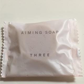 スリー(THREE)のTHREE  洗顔石鹸(洗顔料)