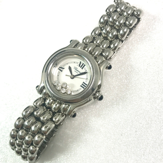 ショパール(Chopard)の美品✨ショパール chopard ダイヤ ハッピースポーツ 腕時計 (腕時計)