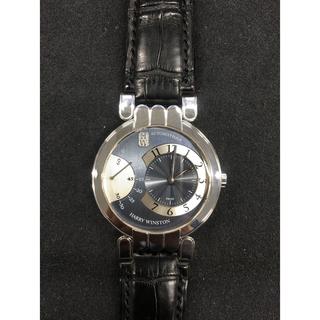 ハリーウィンストン(HARRY WINSTON)の美品ハリーウインストン HARRYWINSTON アベニュー ダイヤ メンズ(腕時計(アナログ))