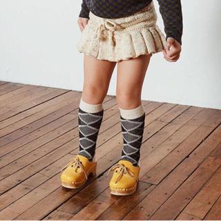 キャラメルベビー&チャイルド(Caramel baby&child )の新品 misha and puff 18-24mコンドルタイツsize1    (スカート)