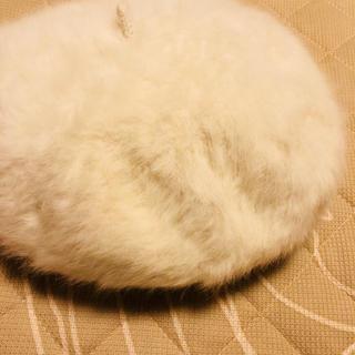 トゥモローランド(TOMORROWLAND)の最終値下げ ♡ ビアンカ 美品 ファー ベレー帽 送料込み(ハンチング/ベレー帽)