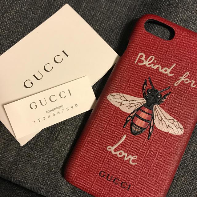 Gucci - GUCCI レア iPhone7 ケース 日本未販売の通販 by ____|グッチならラクマ