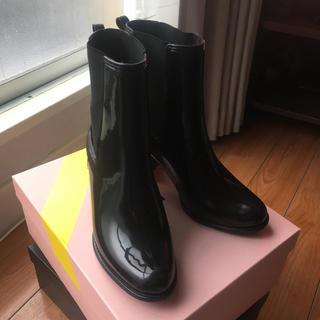 ジェフリーキャンベル(JEFFREY CAMPBELL)のレインブーツ サイドゴアショートブーツ(レインブーツ/長靴)