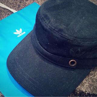 アディダス(adidas)のadidas♡(ハンチング/ベレー帽)