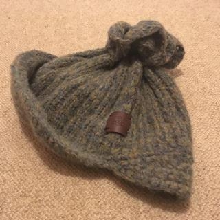 ヴィヴィアンウエストウッド(Vivienne Westwood)の【美品】ビビアンウエストウッド  ニット帽(ニット帽/ビーニー)