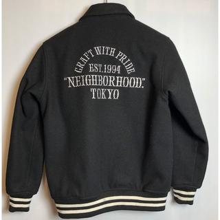 ネイバーフッド(NEIGHBORHOOD)の美品◆正規品◆ネイバーフッド バーシティジャケット 16AW M(スタジャン)