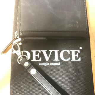 ディバイス(device.)のDEVICE 定期入れコインケース(コインケース)