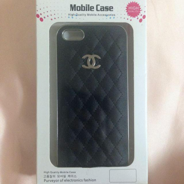 CHANEL iPhone5 5sケースの通販 by rie's shop|ラクマ