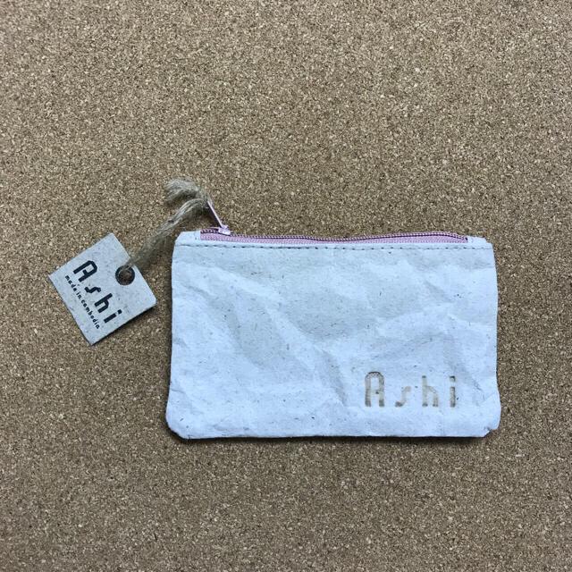 Ashi フラットポーチ(S) ハンドメイドのファッション小物(ポーチ)の商品写真