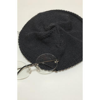 マーガレットハウエル(MARGARET HOWELL)のMARGARET HOWELL ニットベレー帽(ハンチング/ベレー帽)