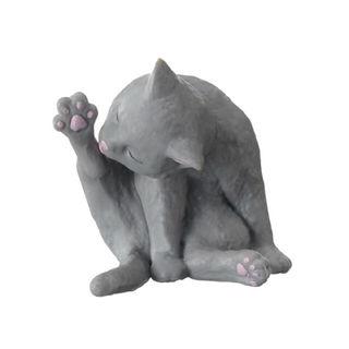 エポック(EPOCH)の猫の毛づくろい  灰猫(その他)