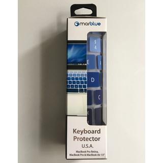 マック(Mac (Apple))のキーボードカバー MacBook Air13 / Pro13&15 US(PC周辺機器)