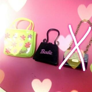バービー(Barbie)のレア✨Barbie👜バッグ✨ショッパー付【バービー人形】(ぬいぐるみ/人形)