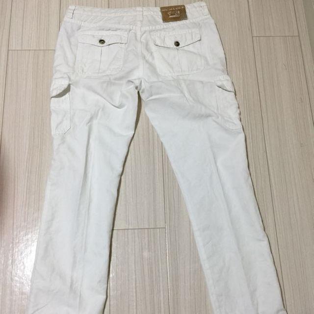 JACOB COHEN(ヤコブコーエン)のJACOB COHEN ホワイトジーンズ メンズのパンツ(デニム/ジーンズ)の商品写真