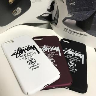 ステューシー(STUSSY)の【注目!新品未使用】 STUSSY iPhone7用 ハードケース(iPhoneケース)
