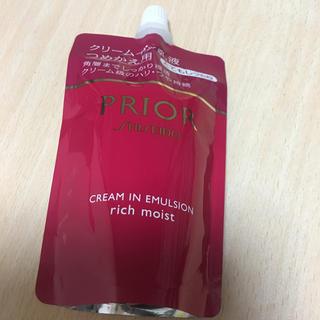 プリオール(PRIOR)のプリオール クリームイン乳液 乳液 つめかえ用 とてもしっとり(乳液/ミルク)