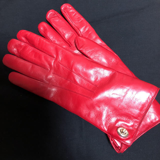 コーチ(COACH)の新品タグ付き コーチ レザーグローブ COACH(手袋)