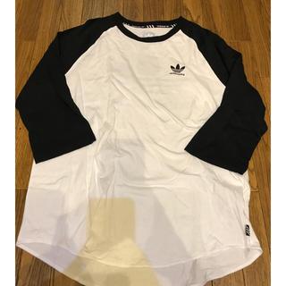 アディダス(adidas)のadidas ラグランカットソー(Tシャツ/カットソー(七分/長袖))