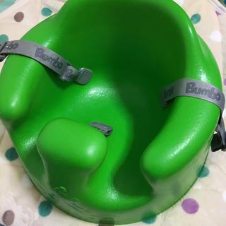 バンボ(Bumbo)の専用 美品 バンボ ベルト付 グリーン(その他)